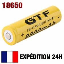 18650 - PILE BATTERIE RECHARGEABLE 9800 mAh LI-ION 3,7 V POUR LAMPE TORCHE...