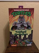 NECA Teenage Mutant Ninja Turtles: The Colossal Chrome Dome Action Figure...