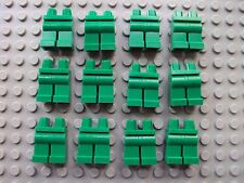 Lego Minifigure ~ Lot Of 12 Green Legs/Pants People Parts NEW! City Town Space