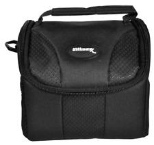 Small Black Padded Camera Bag Case for Fuji Instax Mini 9-8 Camera & GoPro