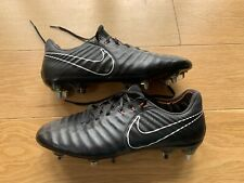 99998c0a3 Nike Tiempo Legend VII Elite SG Pro Anti Clog Fooball Boots Black UK 7