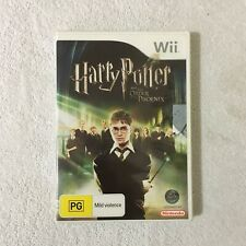 Harry Potter And The Order Of The Phoenix 2007 Nintendo Wii PAL Game