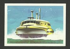 Hovercraft Vintage Jacques Chocolate Card Watercraft 70 passenger Boat