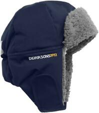 Didriksons Biggles Kids Winter Trapper Cap Hat - Navy 52cm (age 2-4yrs)
