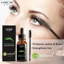 10ml Organic Castor Oil for Eyelash Eyebrow Growth Serum  Vitamins Enhancer