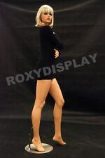 Pretty Face Female Fiberglass mannequin Fleshtone Dress Form Display #Md-Fr9