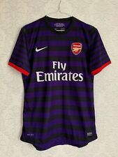 Arsenal Away 2012 2013 PLAYER ISSUE Football Shirt Maglia Camiseta Size L