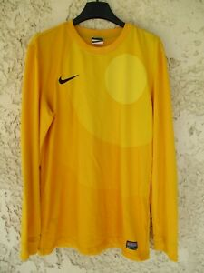 Maillot goal jaune NIKE style LLORIS équipe de FRANCE shirt keeper camiseta M
