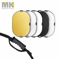 Selens 5-in-1 80x120cm 32x48 Inch Oval Reflector Disc with 3 Handle & Carry Bag