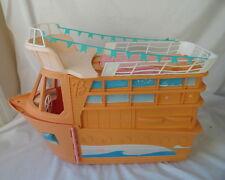 VTG MATTEL BARBIE LARGE PINK DREAM BOAT CRUISE SHIP YACHT FOLD OUT