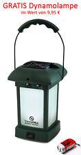 ThermaCELL Laterne grün tragbar Terrassen LED Laterne Outdoor Mücken Schutz