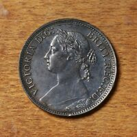 Raw 1881 Great Britain 1 Farthing Coin