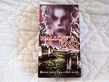 HALLOW'S END VHS HALLOWEEN HAUNTED HOUSE HORROR COLLEGE CO-EDS ZOMBIES VAMPIRES