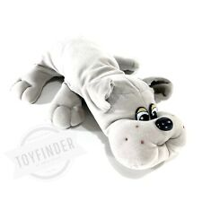 "Vintage 1985 Tonka Large 18"" Pound Puppies Gray Bulldog Puppy Full Size"