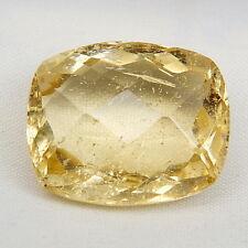 TOP BIG HELIODOR : 34,55 Ct Natürlicher Heliodor ( Gold Beryll ) aus Brasilien