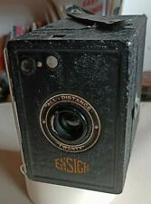 "Ensign "" ALL DISTANCE"" Twenty Film Box Camera"
