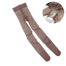 Men's Sexy Pantyhose Lingerie Pouch Sheer See-Through Nightwear Stocking Tights