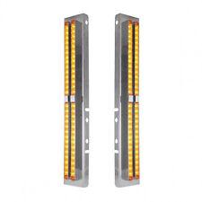 Clear Ribbed Lens Red Generation LED16 Diodes TLED GEN1RCR Marker Light Trux