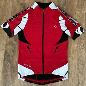 Pearl Izumi PRO red cycling jersey size L