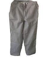 Chef Pants Black And White Check Mens 34� 36�L Unhemmed New