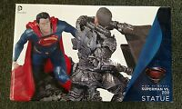 Man Of Steel Superman VS Zod 1:12 Scale Statue Gentle Giant DC Collectibles