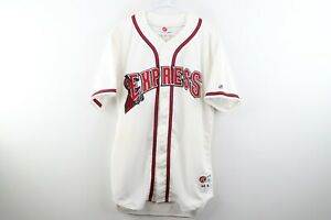 Jackie Moore Autographed Round Rock Express Minor League Baseball Game Jersey 44