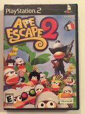 Ape Escape 2 (Playstation PS2) Black Label Complete Excellent!
