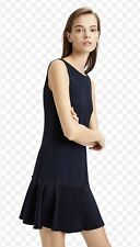 THEORY Flirty Flare Dress Deep Navy, $355 NWT, Size 2