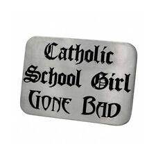 Pride Shack - Lesbian Pride - Catholic School Girl Gone Bad - Belt Buckle