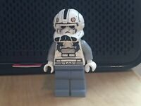 LEGO Clone Pilot Episode 3 White Head - sw0281 Minifigure Star Wars Palpatine
