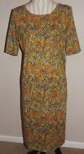 NEW Ladies LULAROE floral Julia dress Size XL