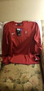 STANFORD CARDINAL SWEATER - LARGE - NIKE DRI-FIT - NWT - PULLOVER