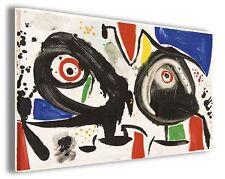 Quadri famosi Joan Mirò vol XV Stampa su tela arredo moderno arte design