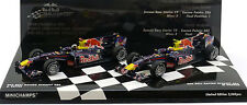 Minichamps Red Bull RB6 Constructors Champion 2010 Vettel/Webber 2 Car Set 1/43
