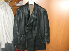 TANK ITALIAN ARMY LEATHER JACKET GIACCONE PELLE X MOTOCICLISTA ANNI'50 ESERCITO