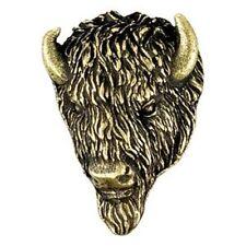 Buffalo Mascot Letterman Jacket Pin