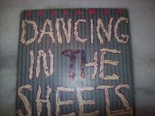 """PROMO 7"""" Single P/S 45-SHALAMAR-DANCING IN THE SHEETS-WITH INSERT-1984-Brazil"""