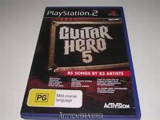Guitar Hero 5 PS2 PAL *Complete*