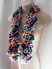 Scarf Designer Stole Wrap Pom Pom Boa GIFT WRAPPED 1 Can Can Charleston