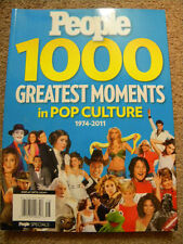 PEOPLE 1000 GREATEST MOMENTS IN POP CULTURE 1974-2011