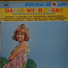 XAVIER CUGAT AND HIS ORCHESTRA DANCE WITH CHEESECAKE  COVER  FRENCH LP