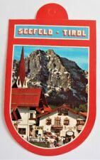 Aufkleber Seefeld Tirol Olympiaregion Österreich Souvenir 80er Sticker Wappen