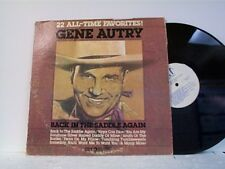 "GENE AUTRY ""22 ALL-TIME FAVORITES"" LP"