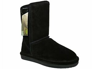 BEARPAW Women's Emma Short Winter Boots Black Size 5 M