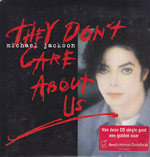 Michael Jackson-They Dont Care About Us cd single