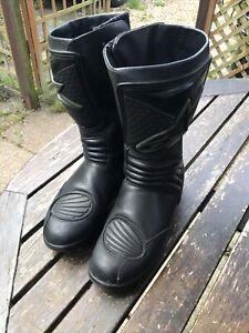 mens alpinestars Boots Eu 38 Uk 5 Black