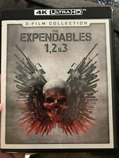 The Expendables 3-Film Collection [4K Ultra HD] Expendables 1, 2, & 3 Stallone