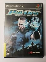 Psi-Ops: The Mindgate Conspiracy PS2 (Sony PlayStation 2, 2004) No Manual