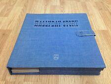 "JOHNNY HALLYDAY "" Hallyday Story "" BOX SET France 1977' Complete"