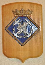 Royal Netherlands Navy Koninklijke Marine plaque shield crest gedenkplaat Dutch